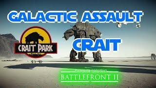 Crait Galactic Assault Cutscenes