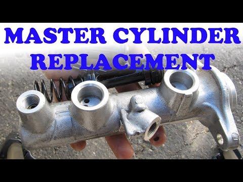 Brake Master Cylinder Replacement: Toyota & Lexus
