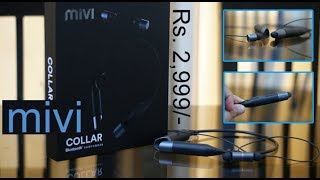Mivi Collar review (Hindi) - Bluetooth Neckband Headset for Rs. 2,999