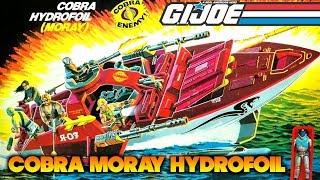 360 Swag Review: G.I. Joe Cobra Moray Hydrofoil (1985)