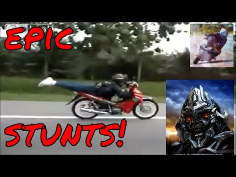 Stunts EPIC motorcycle and dirt bike compilation part 3