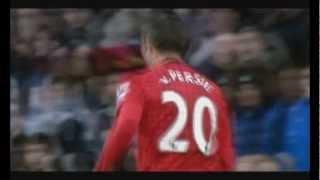 Robin Van Persie World class player Goals+Skills (English commentary)
