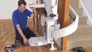 FastTrack Installation Video - Wie sind Treppenlifte installiert sind