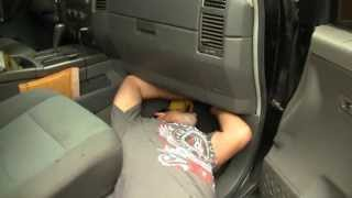 nissan titan a/c ac not blowing - vbc variable blower control module replacement EASY FIX DIY