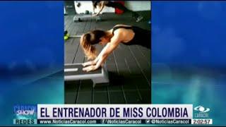 Entrenador de la Miss Colombia Ariadna Gutierrez - Detalles de los Vestidos de Ariadna y Paulina