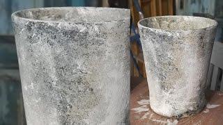 Patinera en kruka - How to age a flower pot