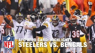 Steelers vs. Bengals   AFC Wild Card Highlights   NFL