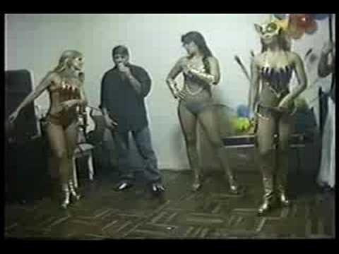 bailando samba con brama