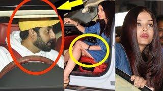Abhishek Bachchan getting super angry on Aishwarya Rai Bachchan
