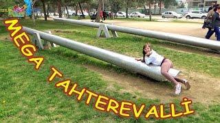 MEGA Tahterevalliye Bindik - Hiç böylesini gördünüz mü - Eğlenceli Çocuk Videosu - Funny Kids Videos