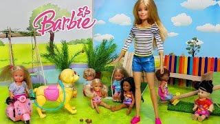 Barbie Oyuncak Bebekler Park da Kötü Bebek İş Başında   Oyun Oyna   Oyuncak Butiğim