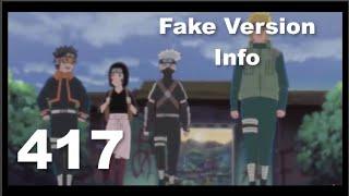 Naruto Shippuden Episode 417 [Fake Version] Info
