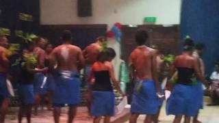 SOLOMON ISLAND STUDENTS DANCING AT DWU 2015