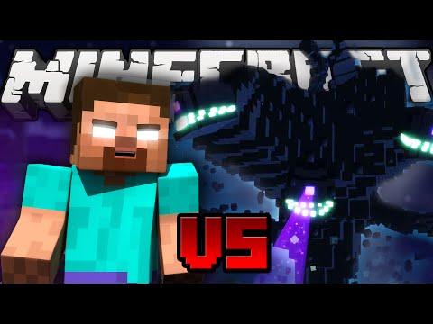 Herobrine VS Witherstorm THE BOSS BATTLE Minecraft Machinima