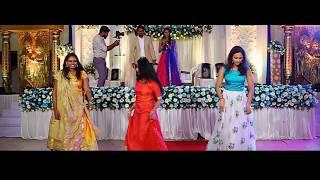 Sodakku Mele & Kala Chashma   Surprise Wedding Dance by family & friends   Nandan weds Gowri
