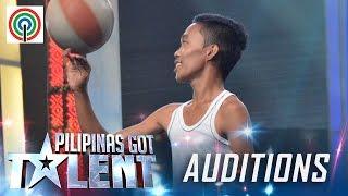 Pilipinas Got Talent Season 5 Auditions: Mark Mestiola - Basketball Tricks