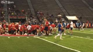 """Jake the Snake"" at Manning Passing Academy"
