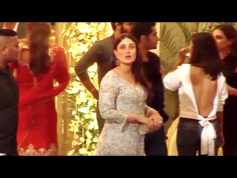 Kareena Kapoor At Father Randhir Kapoor's 70th Birthday Party 2017