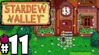 Stardew Valley Gameplay Walkthrough PART 11 - Cherry Blossoms, Shane's Birthday, Spring Crops Bundle