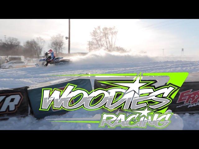 Woodie's Racing at X-Games Snowbike Qualifier - ERX Motor Park