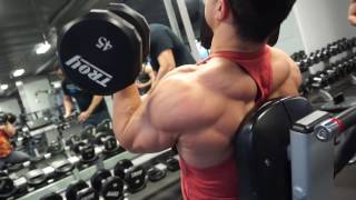 Winter Aesthetics - Chest, Back, Shoulders Hypertrophy Training