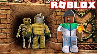 ESCAPE THE MUMMY!! | Roblox Roleplay