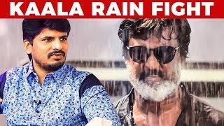 Rajini's Reaction to Mass Kaala Rain Fight Scene  | Actor Dileepan Reveals