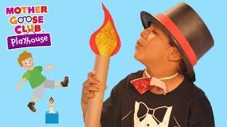 Fun Jumping Challenge | Jack Be Nimble | Mother Goose Club Playhouse Kids Video