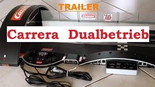 Carrera Dualbetrieb bauen - TRAILER - Carrera Bahn / Rennbahn