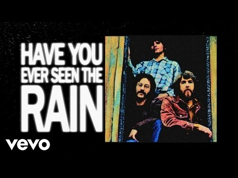 Download Creedence Clearwater Revival - Have You Ever Seen The Rain (Lyric Video) free
