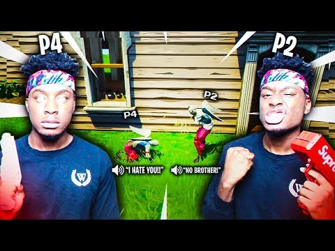 I 1v1 d My SECRET TWIN BROTHER AND THIS HAPPENED FUNNIEST CLONE FORTNITE MATCHUP EVER