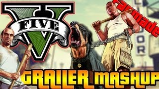 Grand Theft Auto 5: Launch Trailer (Fanmade)
