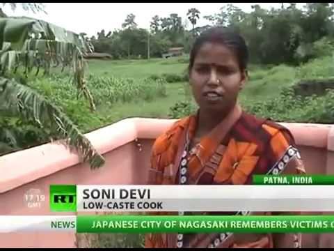 RT || Caste discrimination in Indian village (2010)