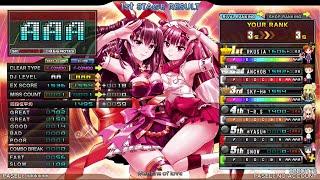 【beatmania IIDX 23 Copula】Medicine of love SPA(lv.9) 正規