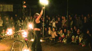 Big Surcus Fire Dancers at Nacarubi
