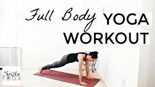 Full Body Yoga Workout - 30 Min Beginner to Intermediate Vinyasa Yoga Class - Yoga for Weight Loss