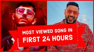 Top 30 Most Viewed Indian/Bollywood Songs in First 24 Hours