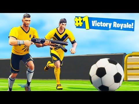 WORLD CUP CHALLENGE in Fortnite Battle Royale