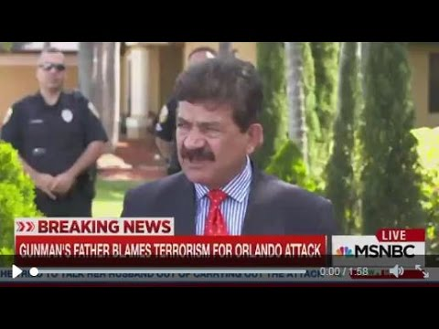 Orlando Shooter's Dad Blames Gay Nightclub for Shooting