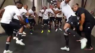 Orlando pirates players singing ND dap