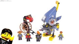 LEGO Ninjago Movie Piranha Attack review! set 70629