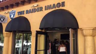New Raiders merchandise store opens in Las Vegas today.