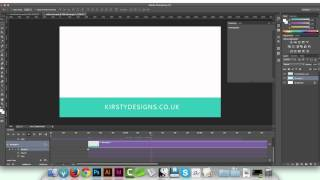 Create a video intro or outro in Photoshop tutorial