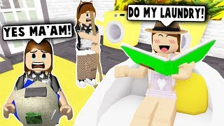 FREE MAID CLEANING BUSINESS! (Roblox Bloxburg) Roblox Roleplay