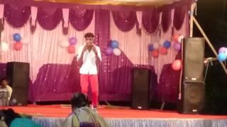 Hindi sambalpuri mix dance stage performance