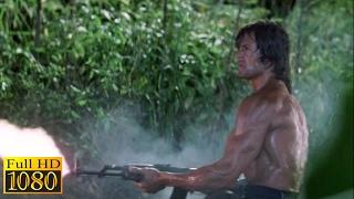 Rambo First Blood 2 (1985) - Escaping Scene (1080p) FULL HD