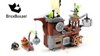 Lego Angry Birds 75825 Piggy Pirate Ship - Lego Speed Build