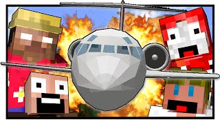 Lost Island - PLANE CRASH! (Minecraft Machinima) #1