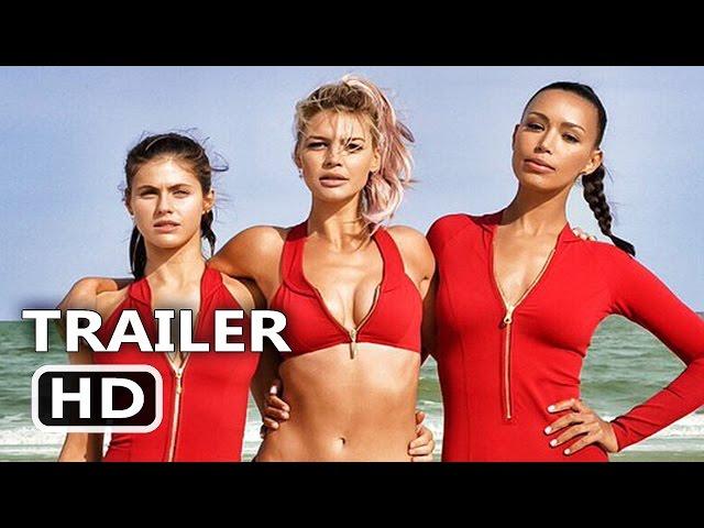 BAYWATCH Official Trailer (2017) Dwayne Johnson, Zac Efron, Alexandra Daddario Comedy Movie HD