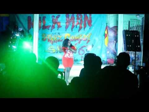 Milk Man Show- BABY G. Big Boob  performed LIVE @ Makilo Plaza